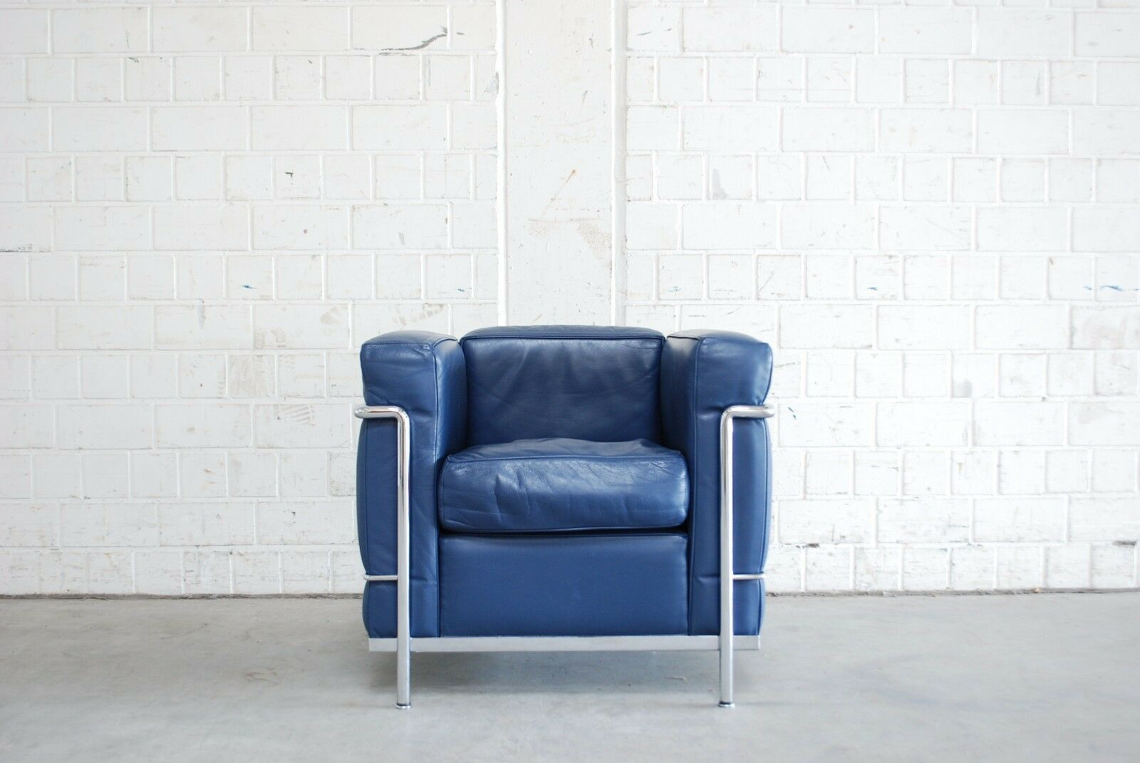 Le Corbusier Sessel Lc2 Original Cassina Le Corbusier Lc2 Sessel In Leder