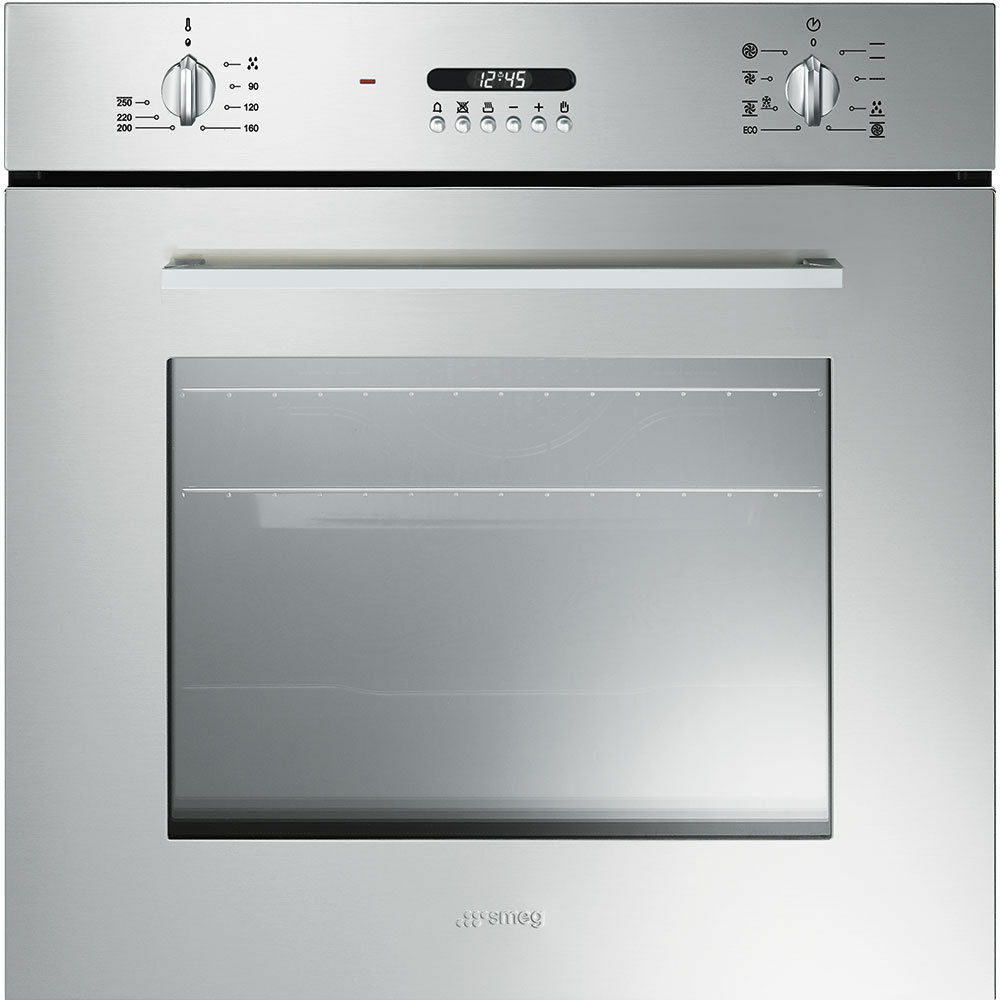 Cucina A Gas Smeg Vintage Smeg Sf478x Single Electric Oven Stainless Steel Wt4610