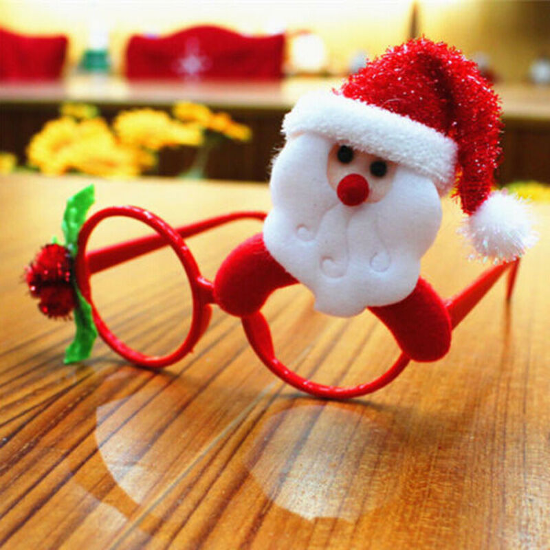 Christmas Ornaments Glasses Frames Evening Party Toy Kids Xmas Gifts