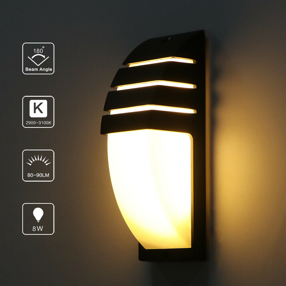 Modern Lamps Led Details About Modern Cob Cuboid Led Wall Lamp 15w Modern Sconce Lighting Fixture Outdoor Porch