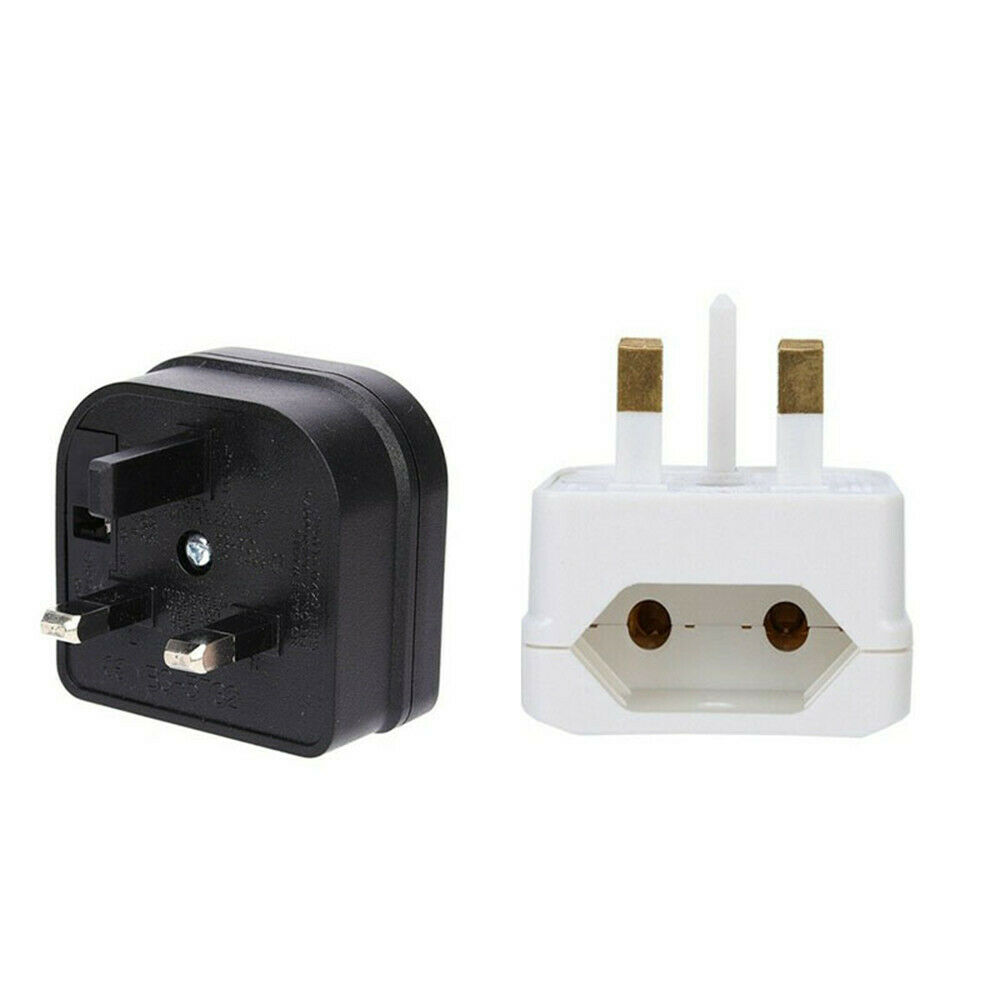 Travel Adapter Eu To Uk Details About European 2 Pin To Uk 3 Pin Plug Adaptor Euro Eu Converter Mains Travel Adapter
