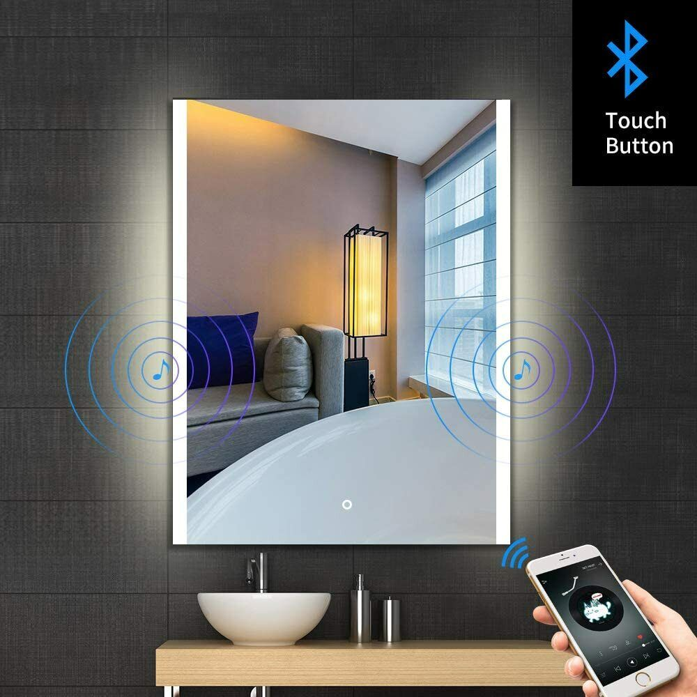 Led Bathroom Mirror 80x36 Horizontal Illuminated Lighted Vanity Wall Mirror For Sale Online Ebay