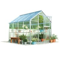 Waltons 6x4ft Aluminium Garden Greenhouse 4mm UV Twin Wall