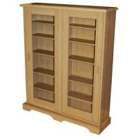 HAMPSTEAD - CD DVD Media Storage Cabinet - Oak MS4408 | eBay