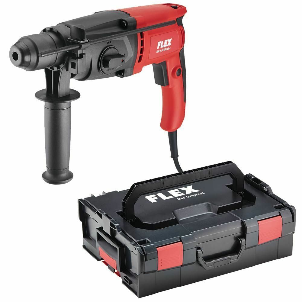 Bosch Flex Flex Hammer Drill Fhe 2 22 Sds Plus In Bosch L Box 413674 710w 2 1 J