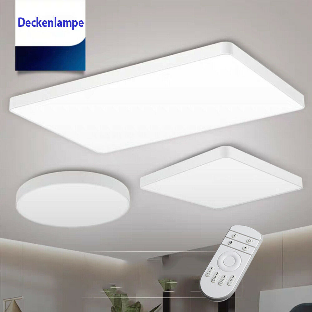 Deckenlampe Design Modern Ultra Thin Modern Led Ceiling Lamp Dimmable 20-72w Wall Lamp Bathroom Indoorlamp | Ebay
