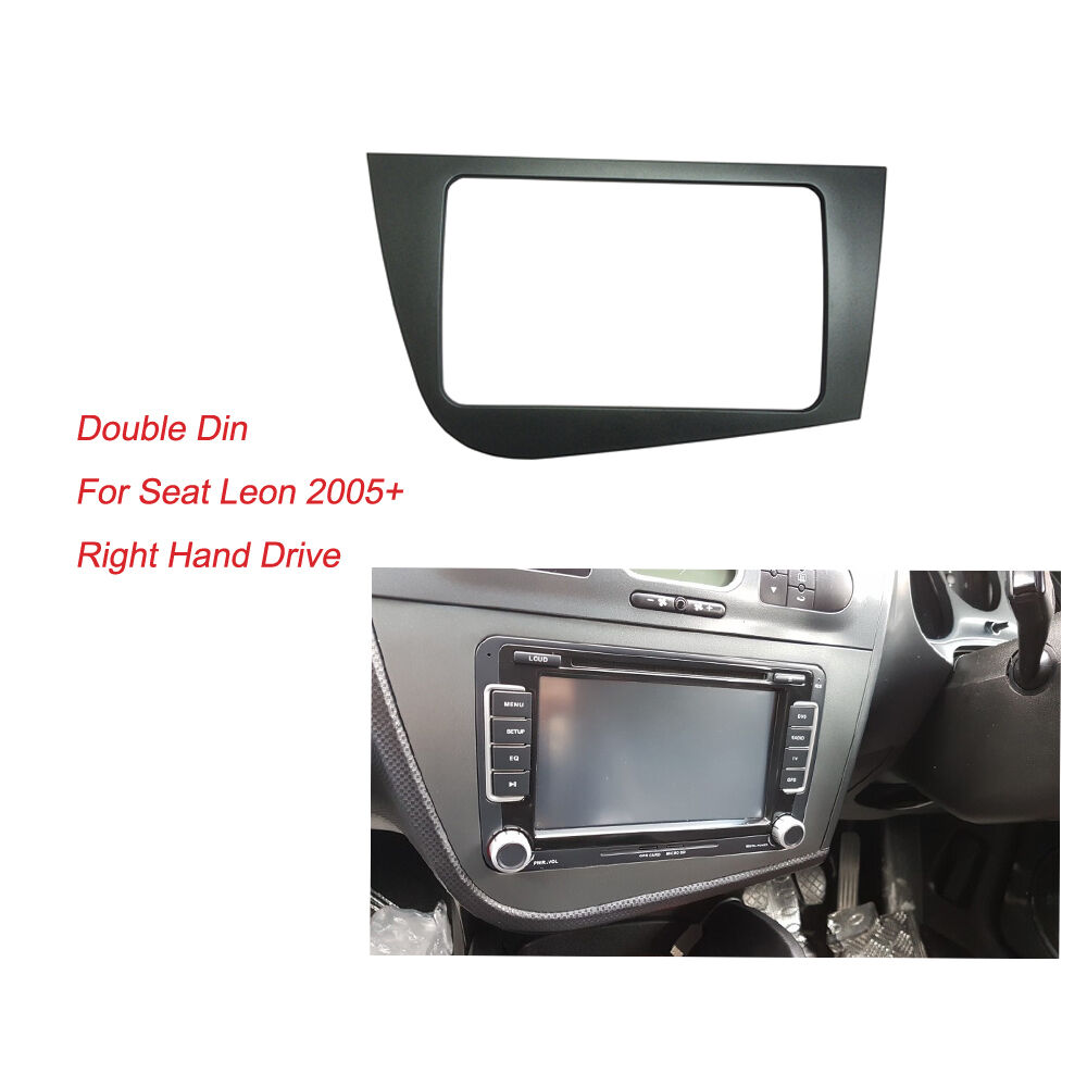 Seat Leon 2 Din Adapter Details About Radio Fascia For Seat Leon 2 Din Stereo Panel Dash Adaptor Dvd Trim Kit Frame