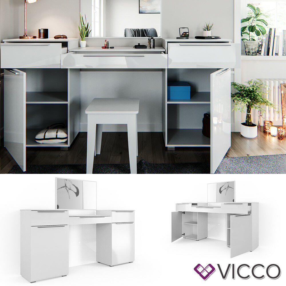 Cosmetic Table Details About Vicco Dressing Table