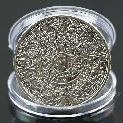 Home Coins Coins British Collections Bulk Lots Silver Plated Aztec
