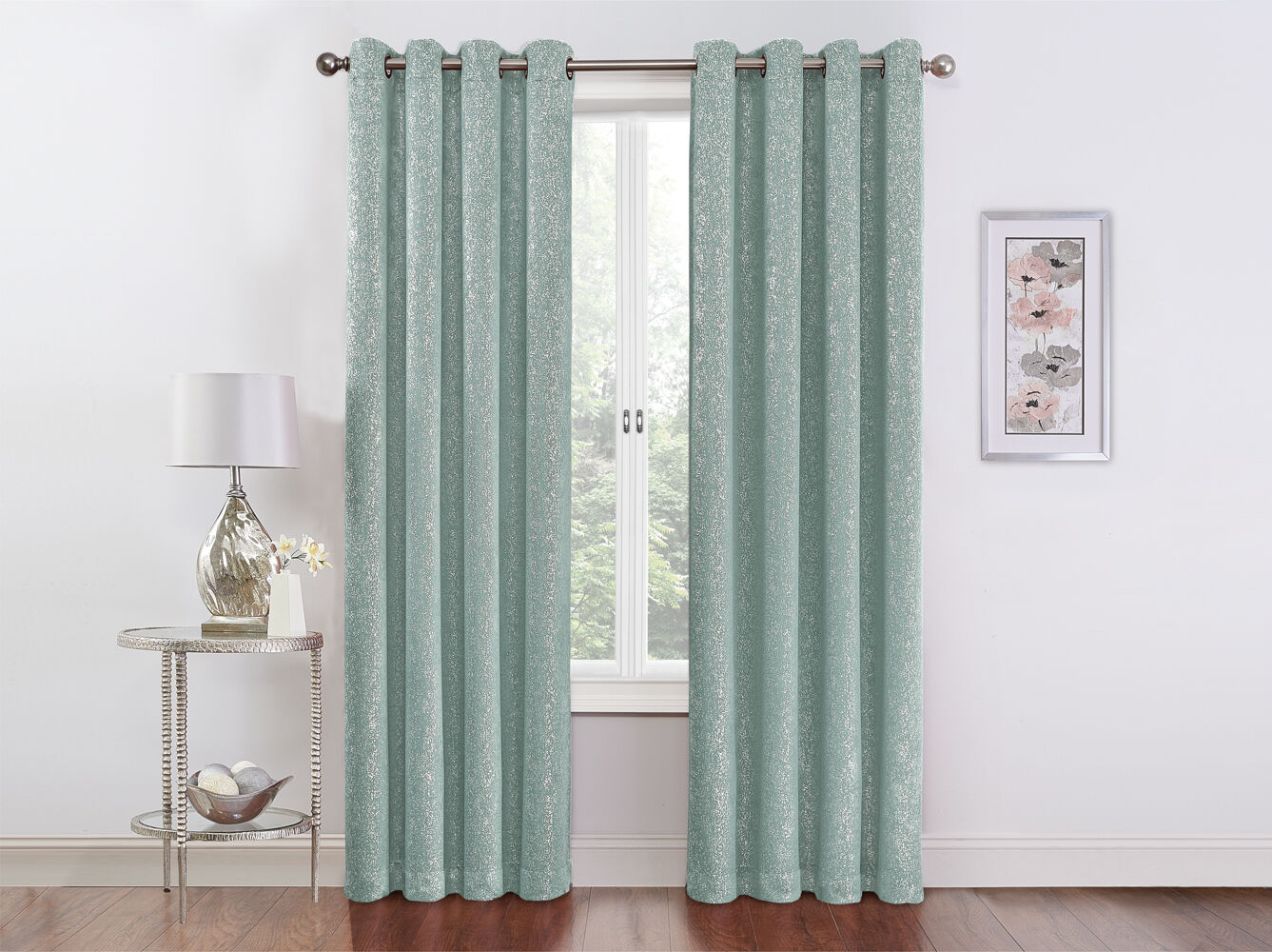 Teal Blackout Curtains Details About Regal Home Metallic Sparkle Thermal Grommet Blackout Curtains Assorted Colors