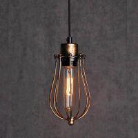 Rusty Rustic Metal Industrial Vintage Retro Pendant Lamp ...