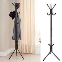 Coat Rack Hat Stand Hanger Metal Hall Tree Hook Holder ...