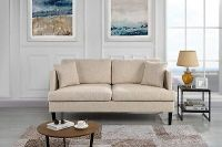 Modern Club Style Sofa Upholstered Loveseat Sofa/Couch ...
