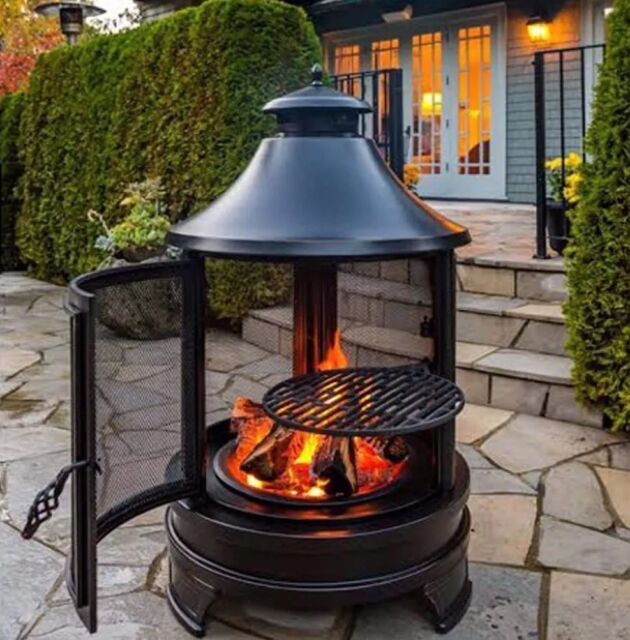 Exterieur Patrick Morin Northwest Sourcing Outdoor Fire Pit Cooking Grilling Bbq