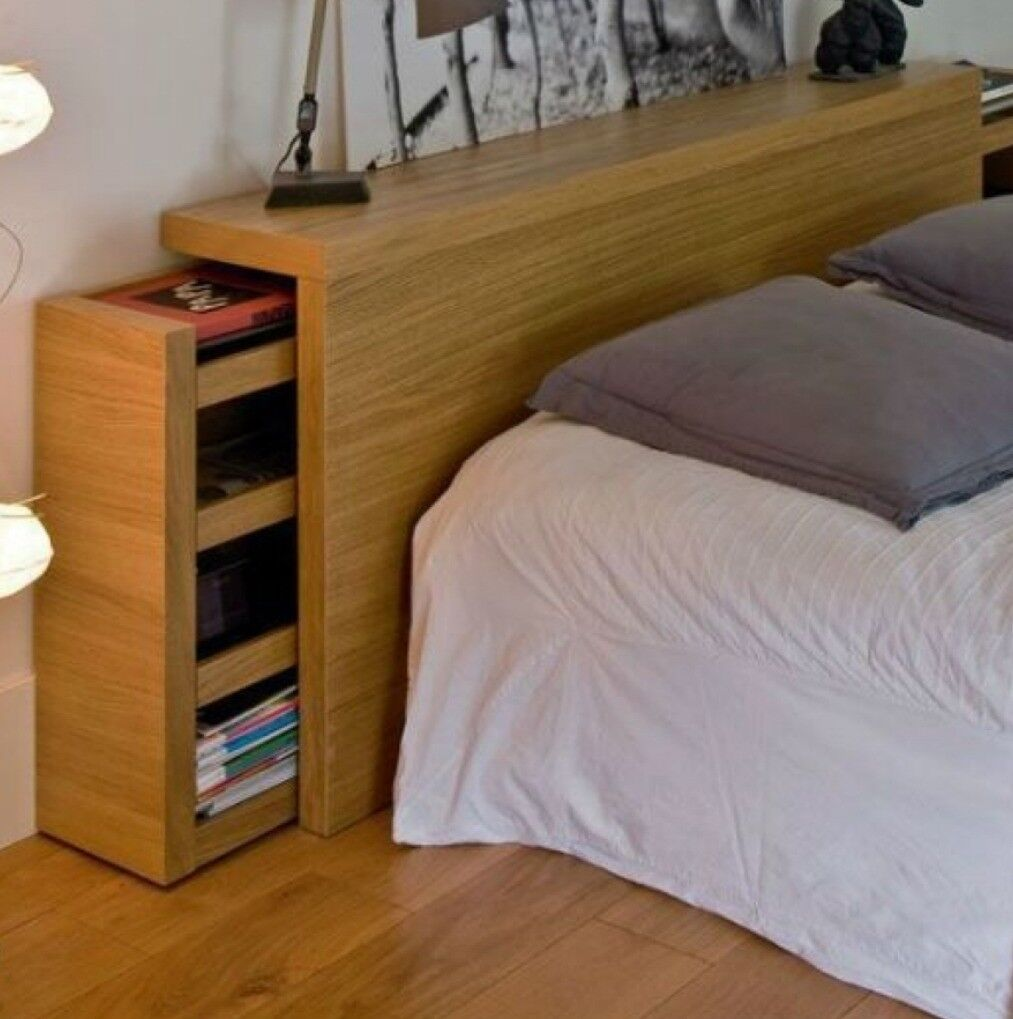 Ikea Malm Bett Kopfteil Ikea Malm Headboard With Storage | In Bangor, County Down