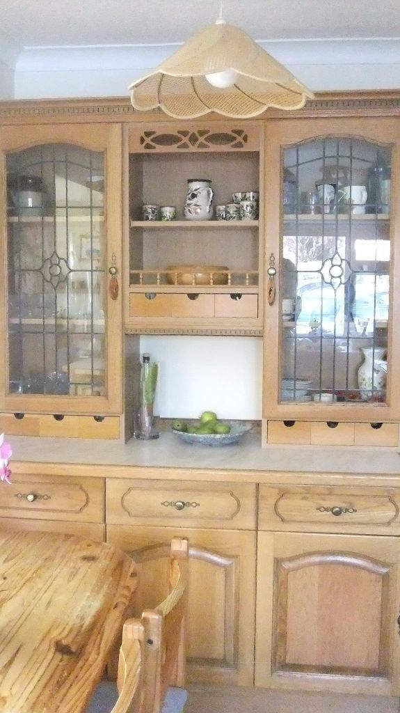 Shreiber Kitchen Units, Solid Oak Doors & Drawer Fronts
