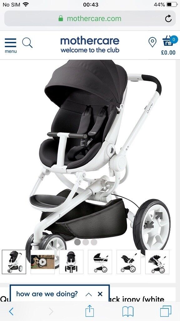 Pushchairs Newborn Mothercare Brand New Quinny Modd Pushchair Strolled From Mothercare