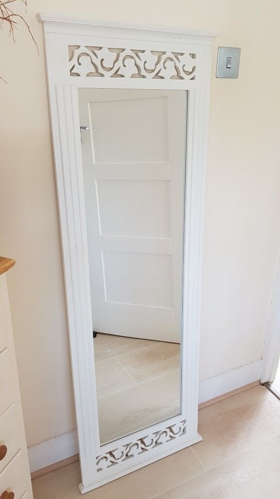 Large Mirrors Gumtree London Large Long Wall Mirror Belgravia Shabby Chic White Painted
