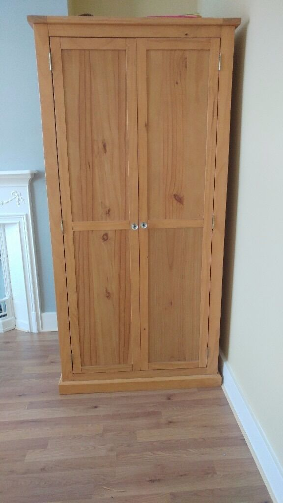 Ikea Wardrobe Valet Solid Pine Wardrobe | In Chatham, Kent | Gumtree