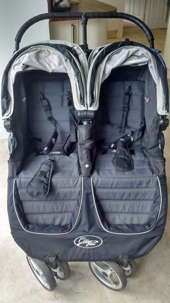 Car Seat Pram Gumtree Baby Jogger City Mini Double Buggy Pushchair In