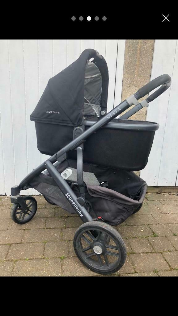 Egg Pram Boots Uppababy Vista Pushchair 2015 In Wroughton Wiltshire
