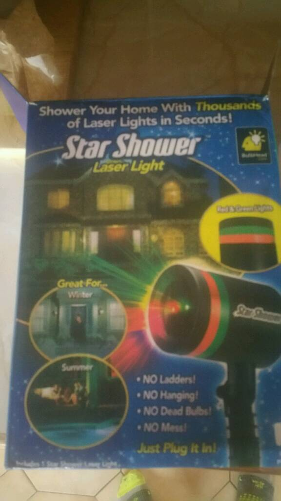 Star Shower Christmas decoration projector outdoor in Coleraine - christmas decoration projector