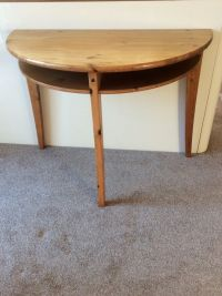 IKEA half circle dining/ side table/ desk/ dressing table ...