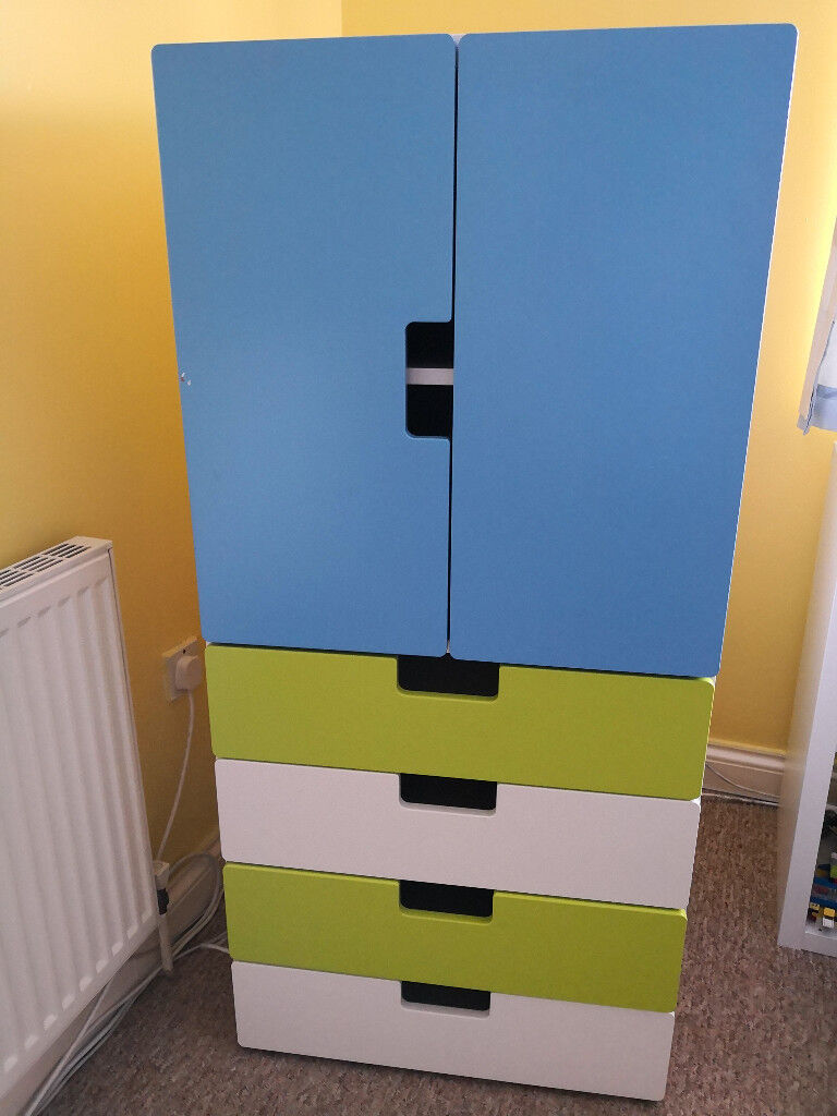 Stuva Lit Ikea Junior Wardrobe