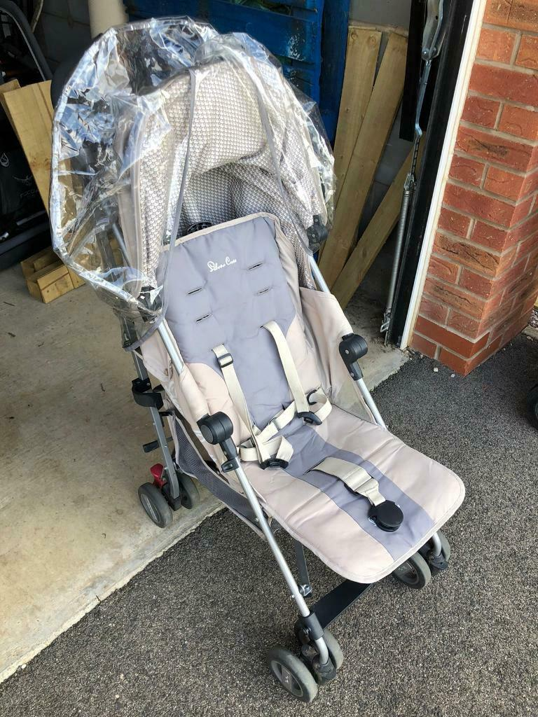 Silver Cross Pushchair Umbrella Silver Cross Zest Stroller In Leicester Leicestershire