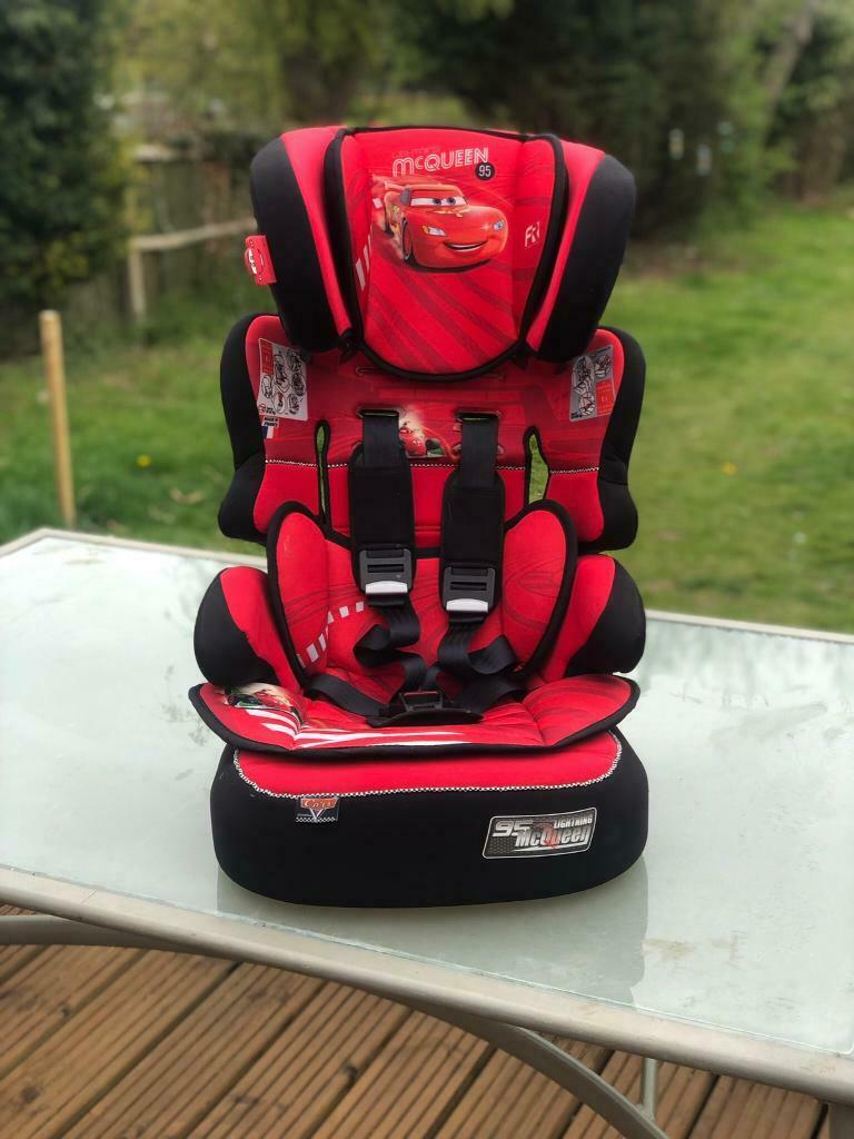 Maxi Cosi Car Seat Axiss Lightning Mcqueen Group 1 2 And 3 Car Seat In Earl