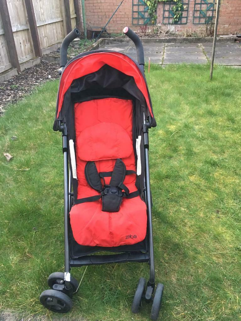 Double Pram Stokke Zobo Stroller Pram Buggy Great Condition With Rain