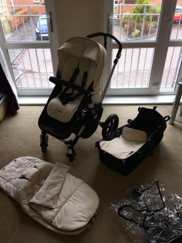 Buggy Pushchair Coffee Bugaboo Cameleon3 Pushchair Base Unit And Carrycot