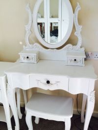 "White Shabby Chic ""Toulose"" from Dunelm Dressing Table ..."
