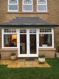 UPVC Bay window with French doors | in Menston, West ...