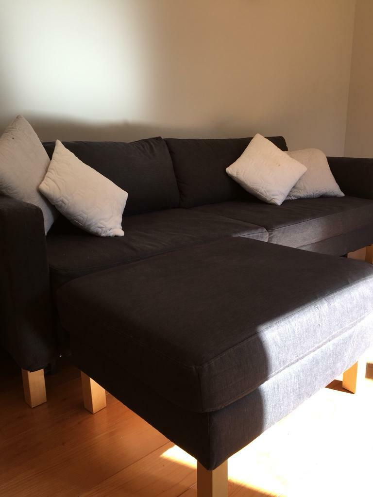 Sofa Beds Guildford Surrey Ikea Karlstad 3 Seater Sofa Bed And Footstool | In