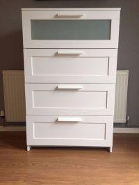IKEA Furniture 'BRIMNES' 4 Drawer Dresser - White | in ...
