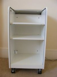IKEA Aspvik roll-front, lockable filing cabinet with ...