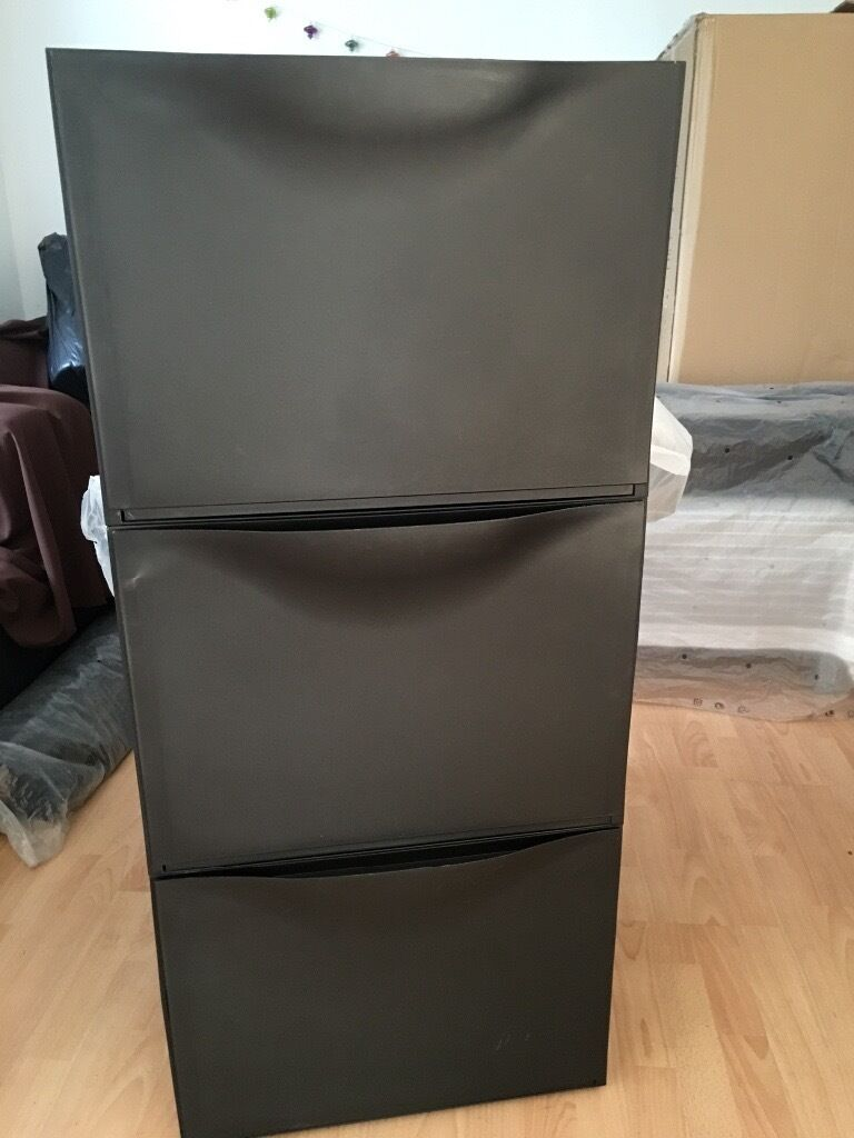 Trones Shoe Storage Cabinet Black Ikea Trones - Black Shoe Cabinet/storage | In Wortley