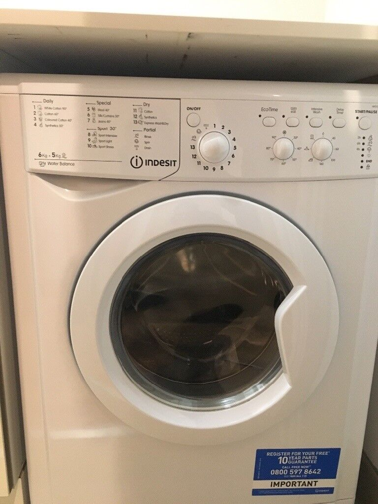 Indesit Iwdc 6125 Brand New And Unused Washing Machine - Indesit Iwdc 6125