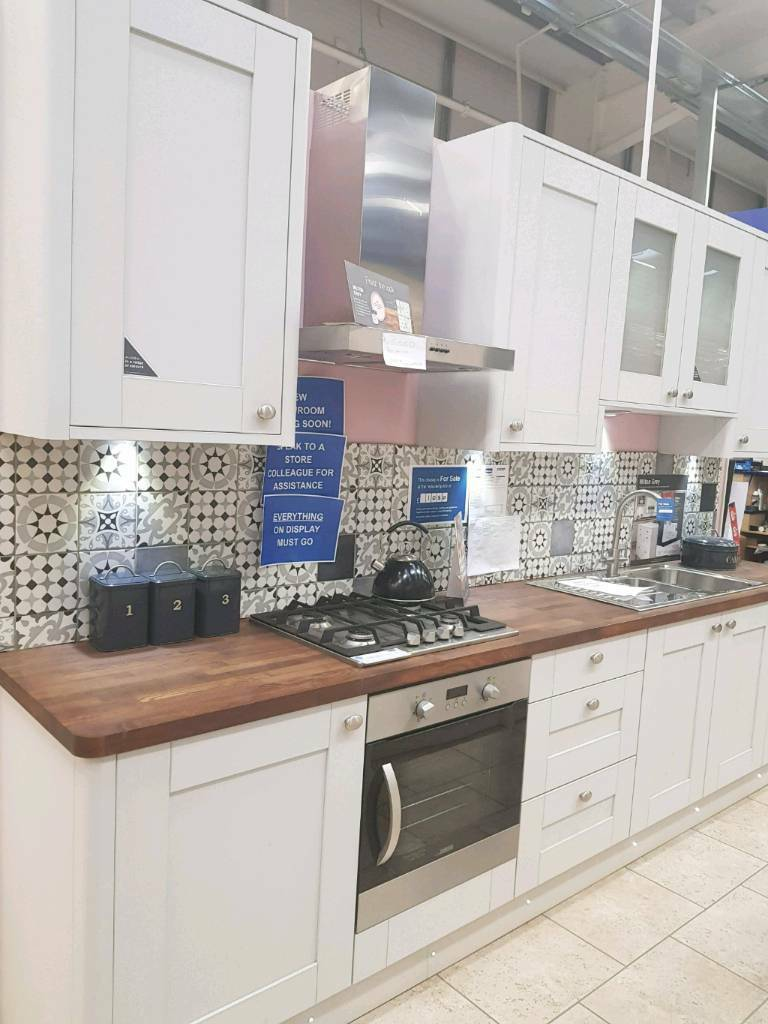 Second Hand Kitchen Island Milton Grey Ex Display Wickes Kitchen | In Edinburgh | Gumtree