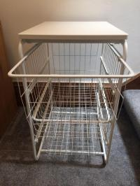 Ikea Antonius wire baskets. 2 available. | in Alloa ...