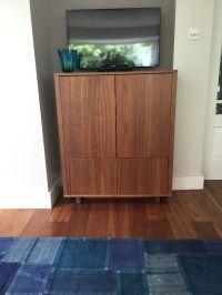 Ikea STOCKHOLM Cabinet with 2 drawers, walnut veneer ...