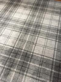 New Grey Tartan Carpet | in Dalkeith, Midlothian | Gumtree