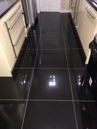 High Gloss Black Porcelain Floor Tiles 600x600. | in ...