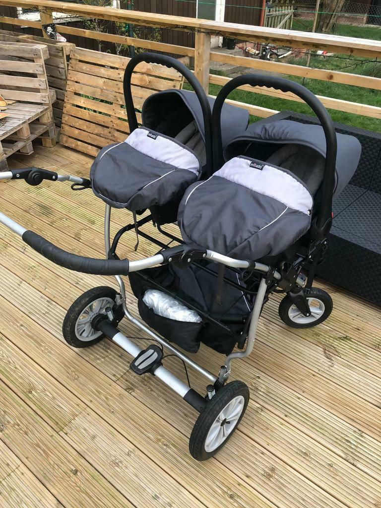 Double Pushchair For Toddlers Mikado Duet Twin Pram Buggy In Dundee Gumtree