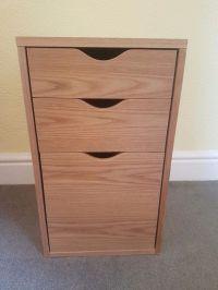 John Lewis oak effect filing cabinet RRP 150 | in ...