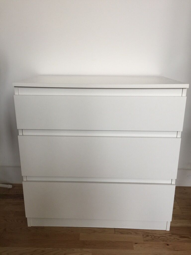 Kullen Ikea Kullen Chest Of 3 Drawers White 70x72 Cm - Ikea | In