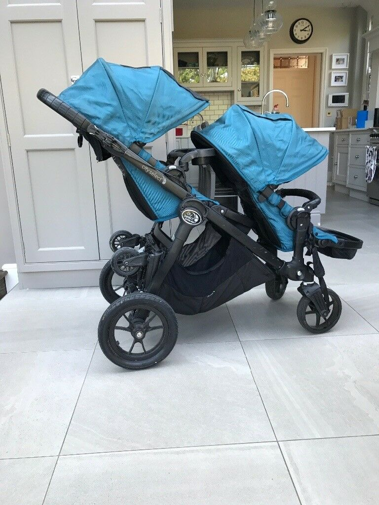 Car Seat Pram Gumtree Baby Jogger City Select Double Stroller Plus Accessories