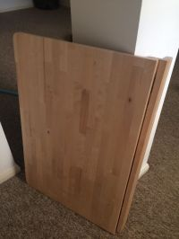 Wall-mounted drop-leaf table, NORBO, Ikea | in Brighton ...