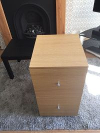 Oak effect filing cabinet | in Kingswood, Bristol | Gumtree
